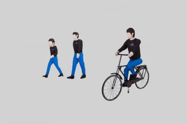 行人、自行车等软目标